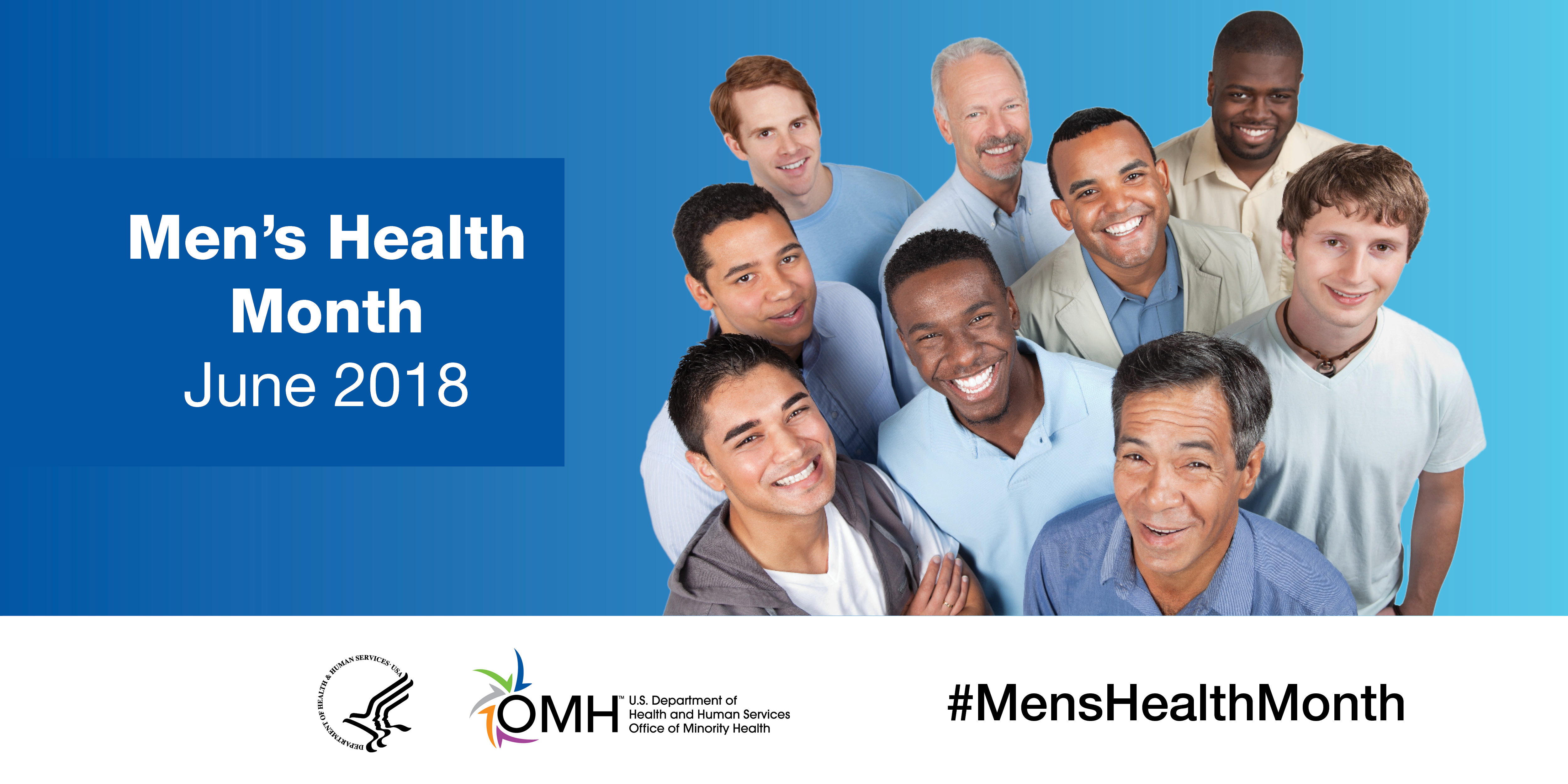 WHO IS TALKING ABOUT MEN'S HEALTH?